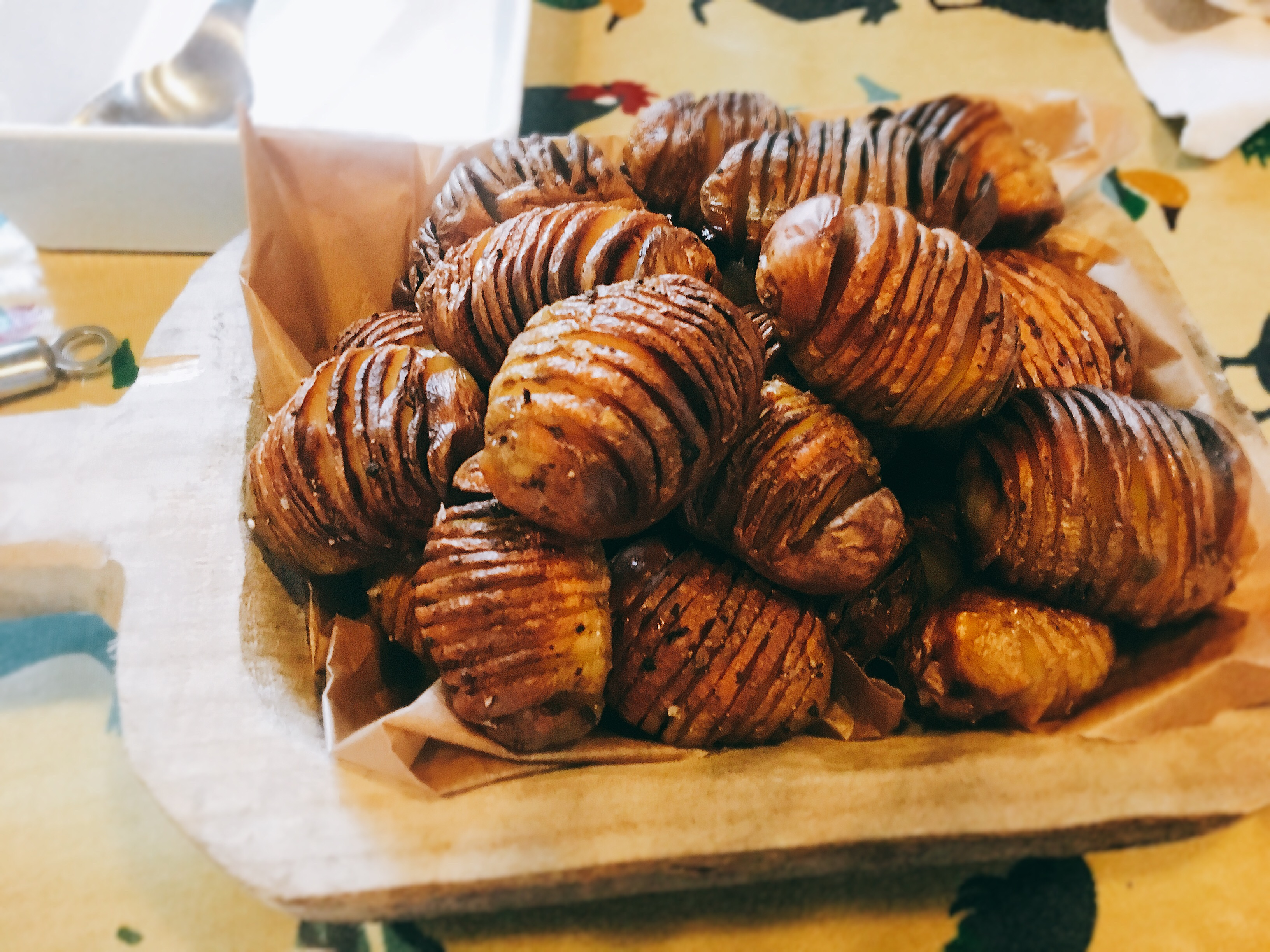 catering somerton hasselback potatoes
