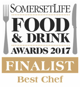 best chef somerset life magazine 2017 yeovil Steve James