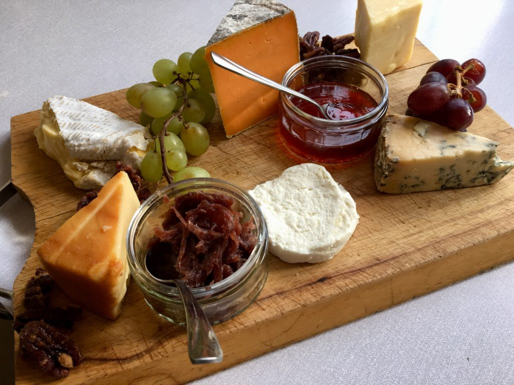 local somerset and dorset cheeseboard personal chef Steve James Somerset Dorset Caterer