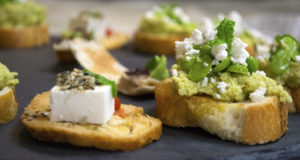 spring canapes 2 personal chef caterer catering private chef somerset dorset east devon weymouth taunton langport bridport beaminster dorchester exeter beer broad bean tapenade feta red pepper